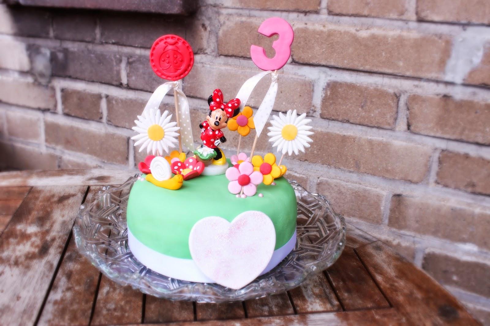 Lusiluup Minnie Maus Torte Zum 3 Geburtstag