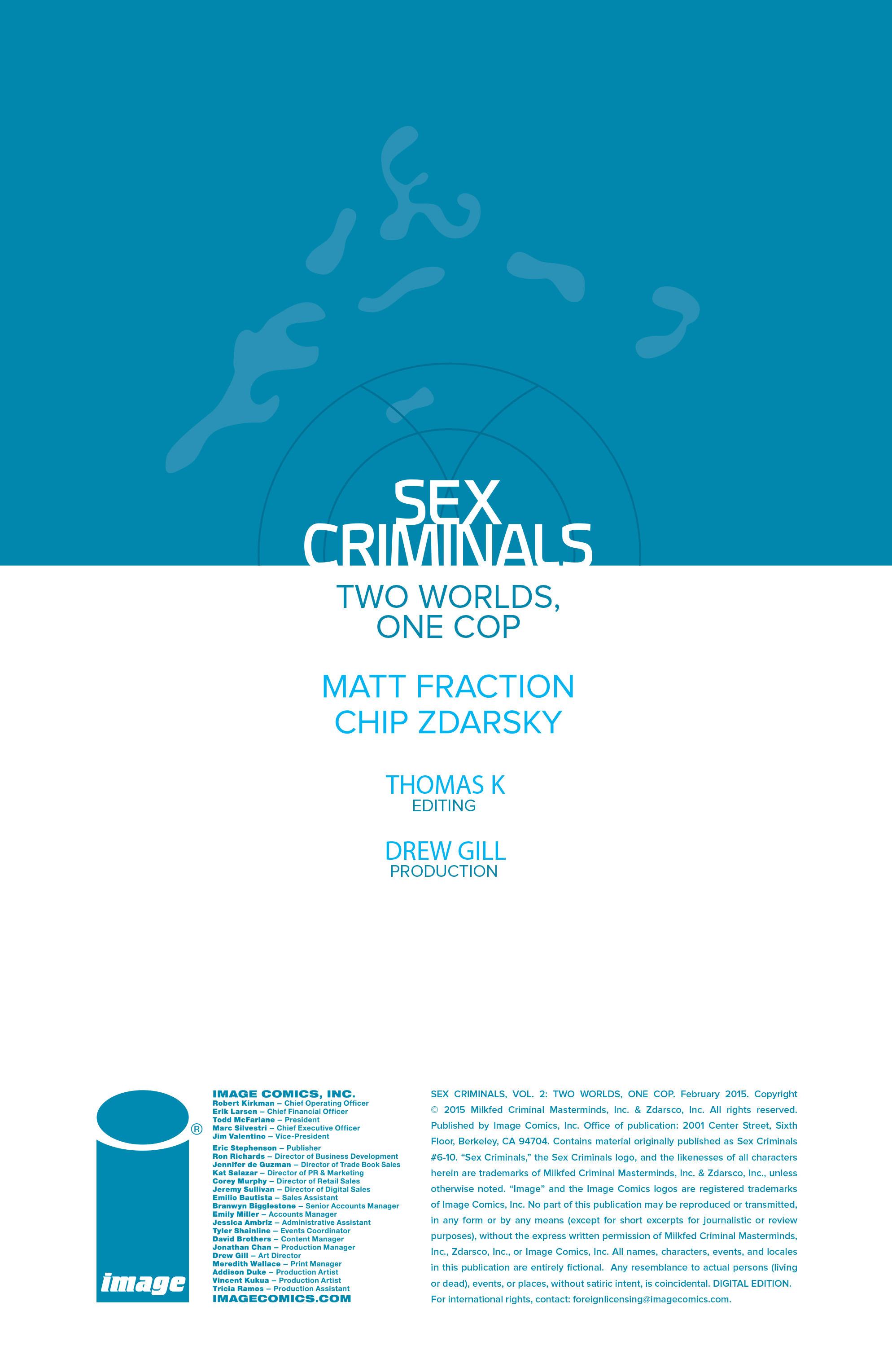 Read online Sex Criminals comic -  Issue # _TPB 2 - 3
