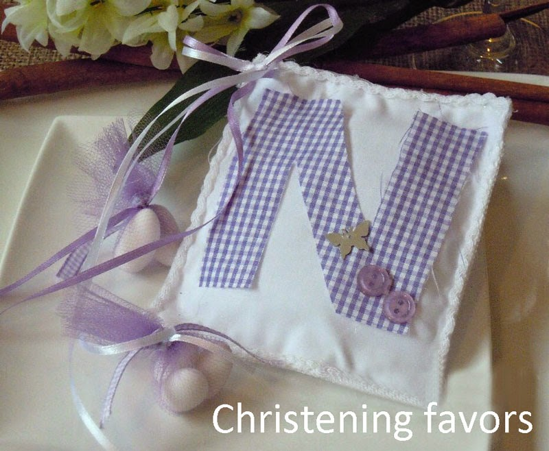 Favors for christening