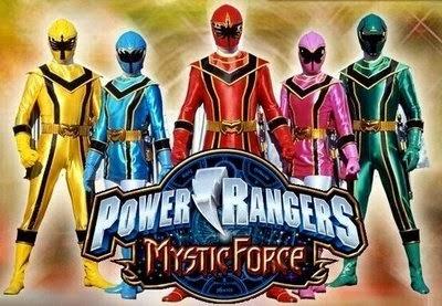 Power Rangers Força Mística Dublado 11