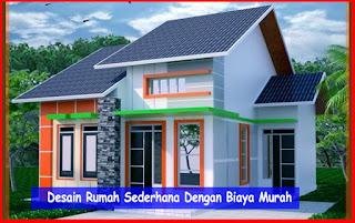 Desain Rumah Sederhana Murah Elegan