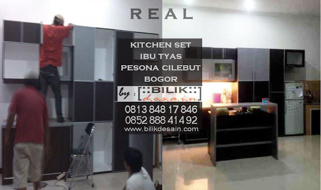 kitchen set bogor, pantry bogor, meja bar bogor, kitchenset minimalis