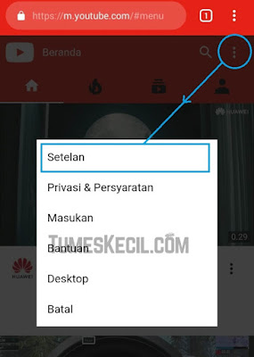 cara menonaktifkan notif youtube di email yang mengganggu