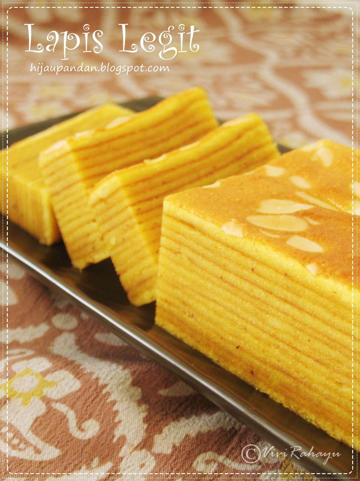 Lapis legit sumber kue kue indonesia yasaboga 300 gr mentega