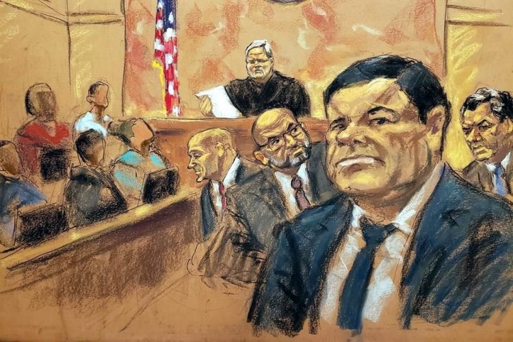 Defensa del Chapo pide formalmente la reposición del juicio del capo sinaloense