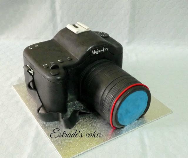 tarta cámara de fotos 1