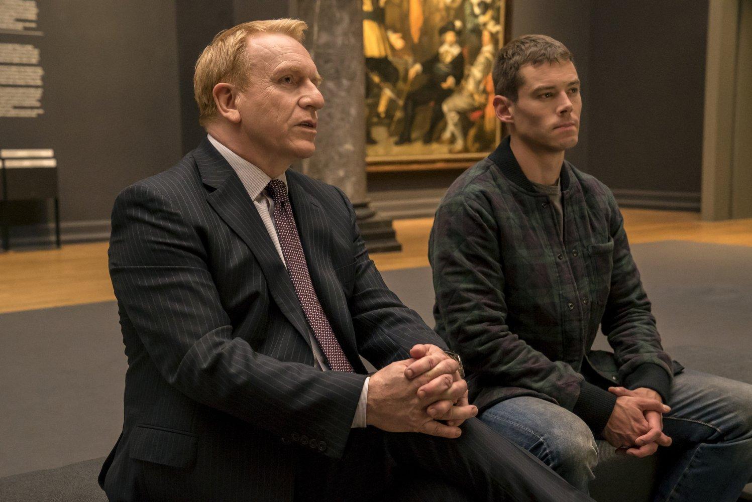 Brian J. Smith en una escena de la segunda temporada de Sense8, Netflix