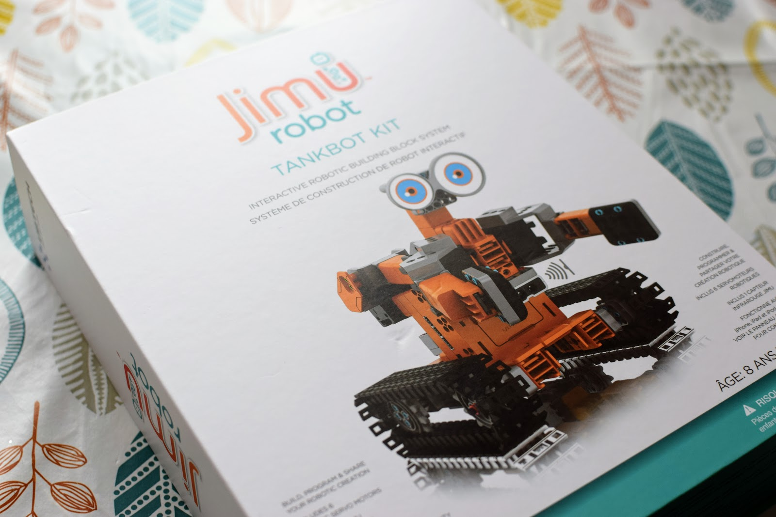 , STEM Learning: Jimu Robot Tankbot Kit- Get Kids Coding
