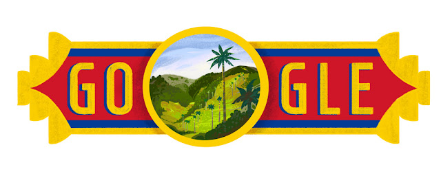 Colombia National Day 2016 - Google Doodle