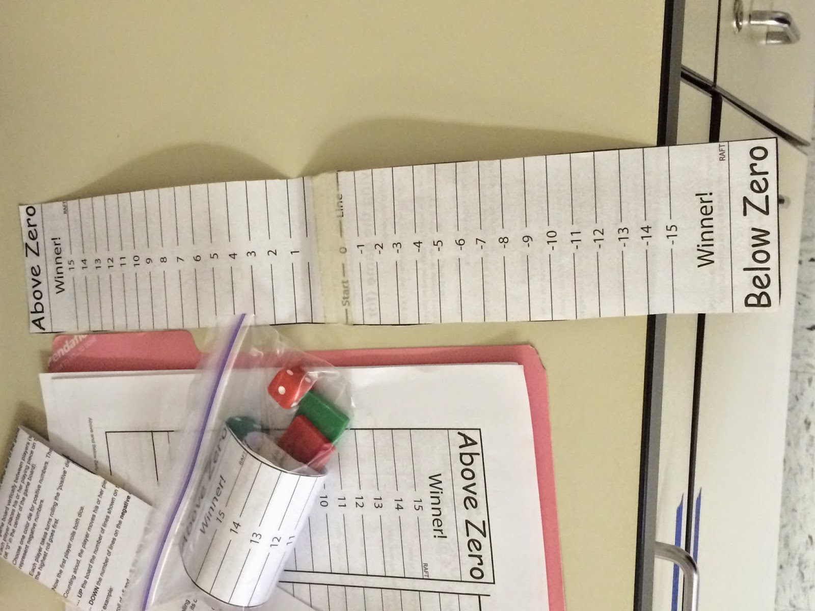 Creative Math In Middle School Adding And Subtracting