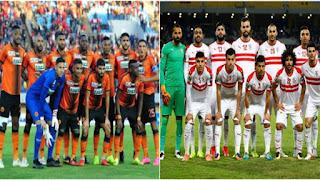 مشاهدة مباراة نهضة بركان و الزمالك المصري في نهاية كأس عصبة الابطال الافريقية