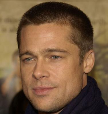 Brad Pitt Army Hairstyle Style Your Hair - Army hairstyle pic