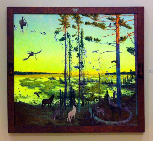 Tom Uttech - Minwabadam - 1998 - Museum of Wisconsin Art