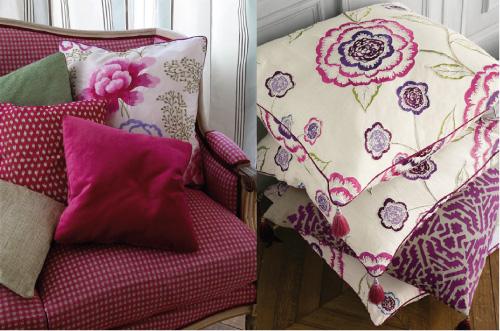 Tessuti d 39 arredo manuel canovas blog di arredamento e for Interni colorati casa