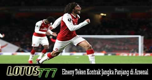 Elneny Teken Kontrak Jangka Panjang di Arsenal
