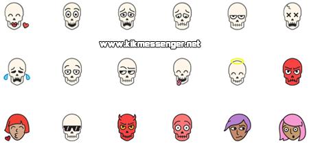 Nuevos Emojis gratis para Kik Messenger