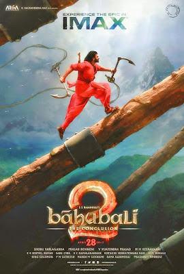 Prabhas Baahubali 2: The Conclusion IMAX Poster released Rajamouli