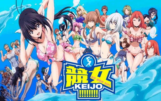Keijo - Daftar Anime Sport terbaik Sepanjang Masa