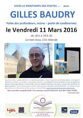Gilles Baudry poète de Landevennec