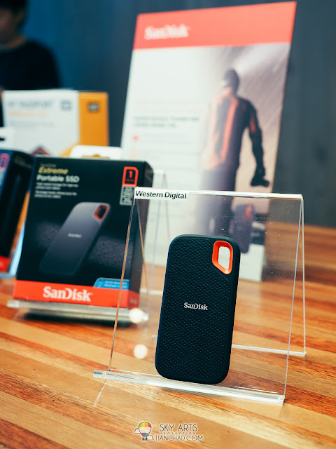 SanDisk Extreme Portable SSD is much smaller in size but still powerful