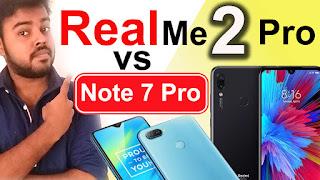 Redmi Note 7 vs Realme 2 Pro comparision, camera, spec, compare Realme 2 Pro vs Redmi Note 7