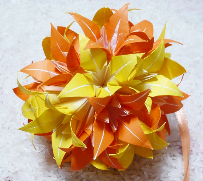 How To Make A Traditional Origami Iris Flower