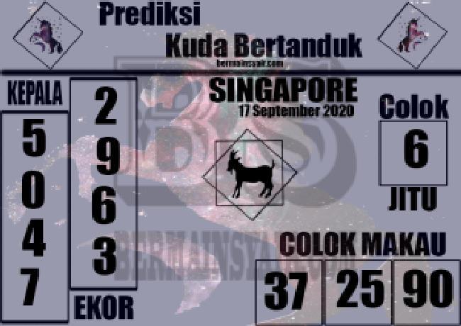Kode syair Singapore Kamis 17 September 2020 261