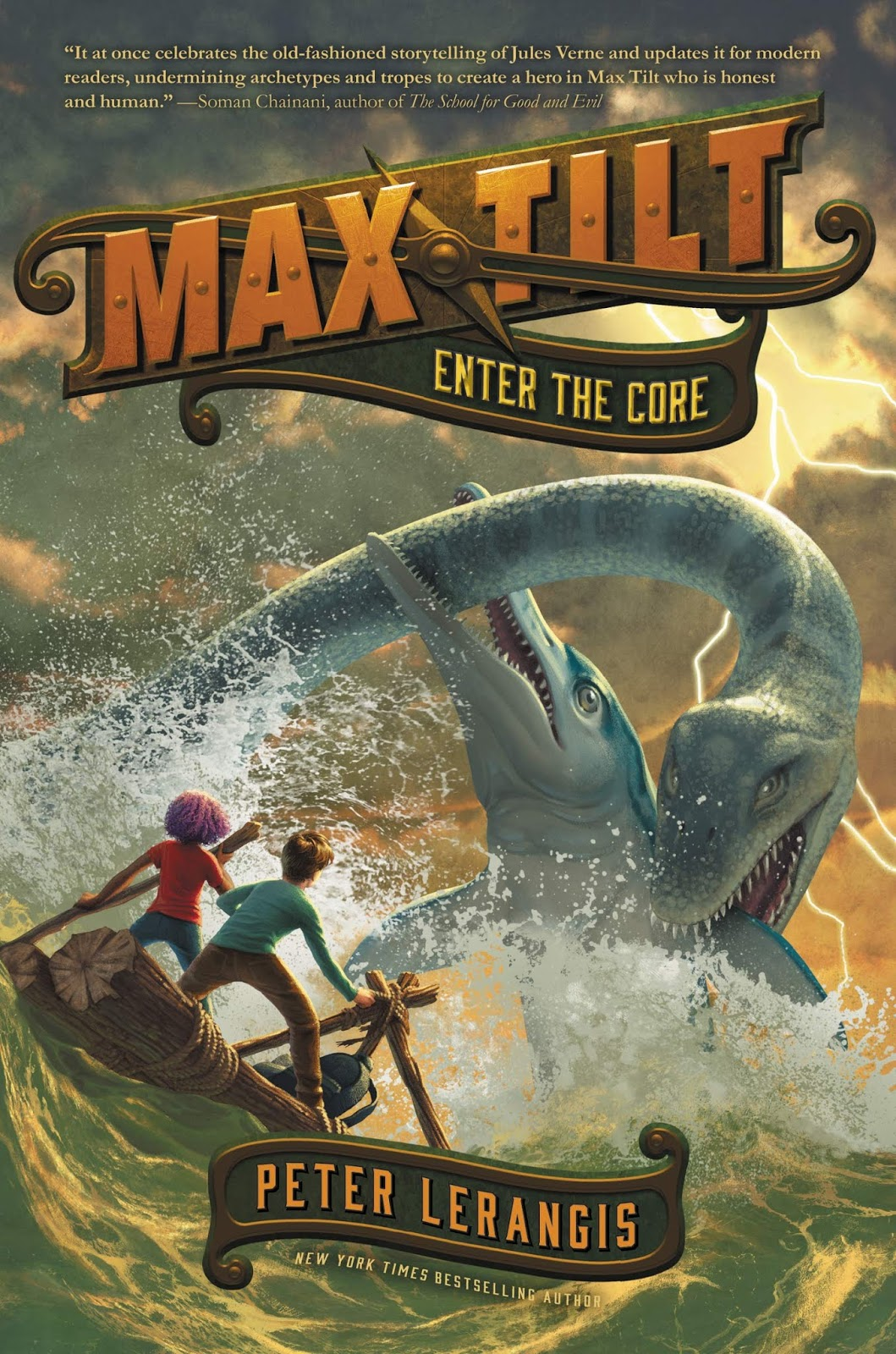 Max Tilt: Enter the Core by Peter Lerangis