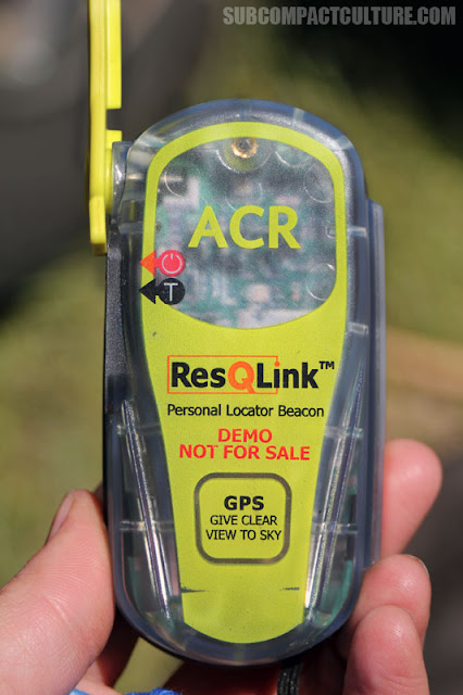 ResQLink personal beacon