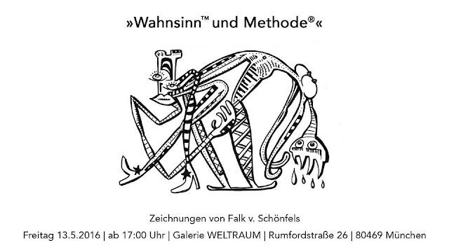 Freitag 13.5.2016, ab 17:00 Uhr in der Galerie WELTRAUM [Rumfordstraße 26, 80469 München]