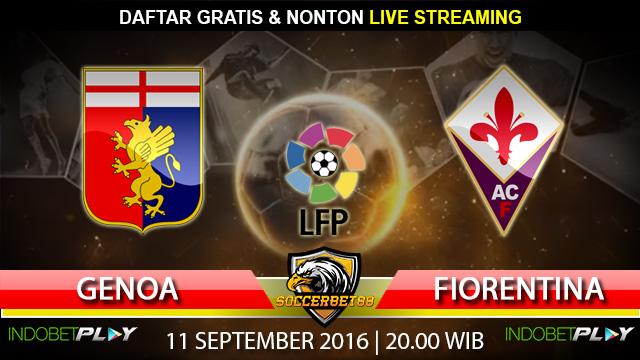Prediksi Genoa vs Fiorentina 11 September 2016 (Liga Italia)