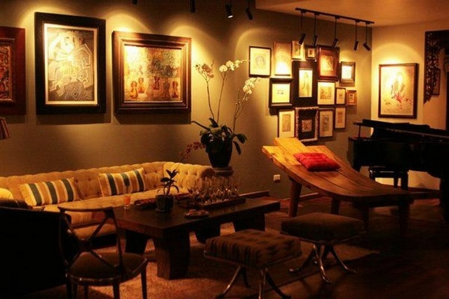 sofa đẹp của Hồng Nhung