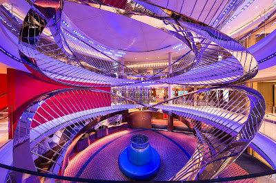 Main Atrium Holland America's New Nieuw Statendam Coming in 2018