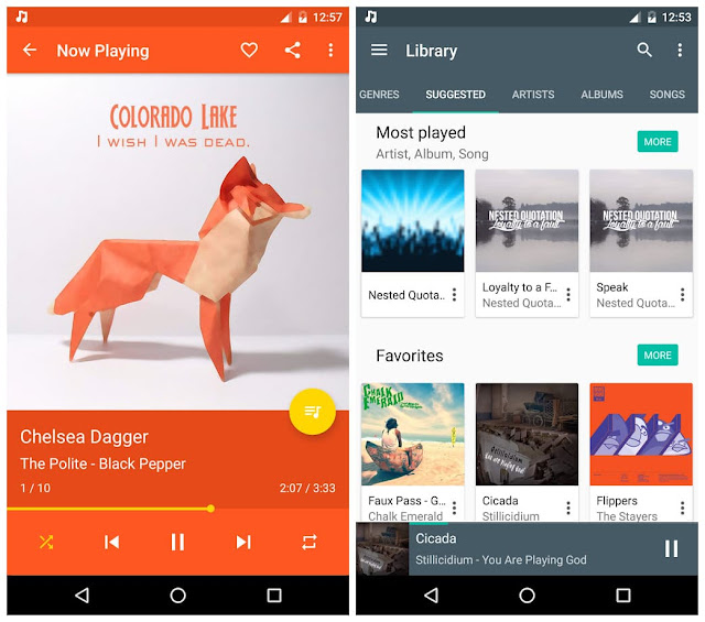 Shuttle+ Music Player APK Free Download