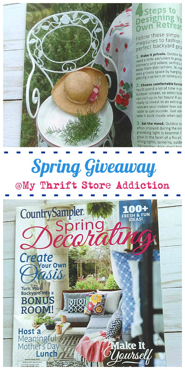 My Thrift Store Addiction giveaway