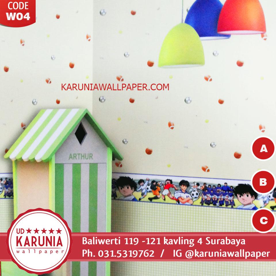 jual wallpaper anak lucu surabaya