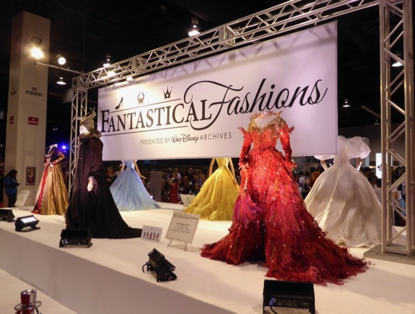 Fantastical Fashions costume exhibit D23 Expo 2017