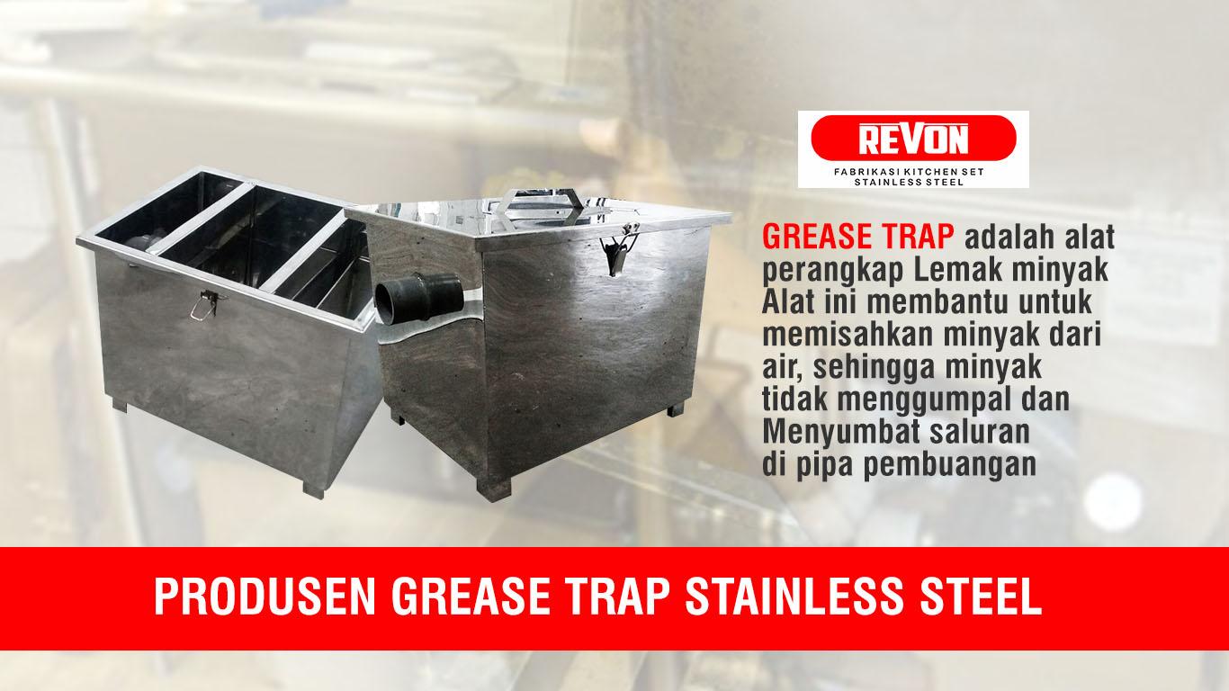 Jual Grease Trap Stainless steel di Surabaya