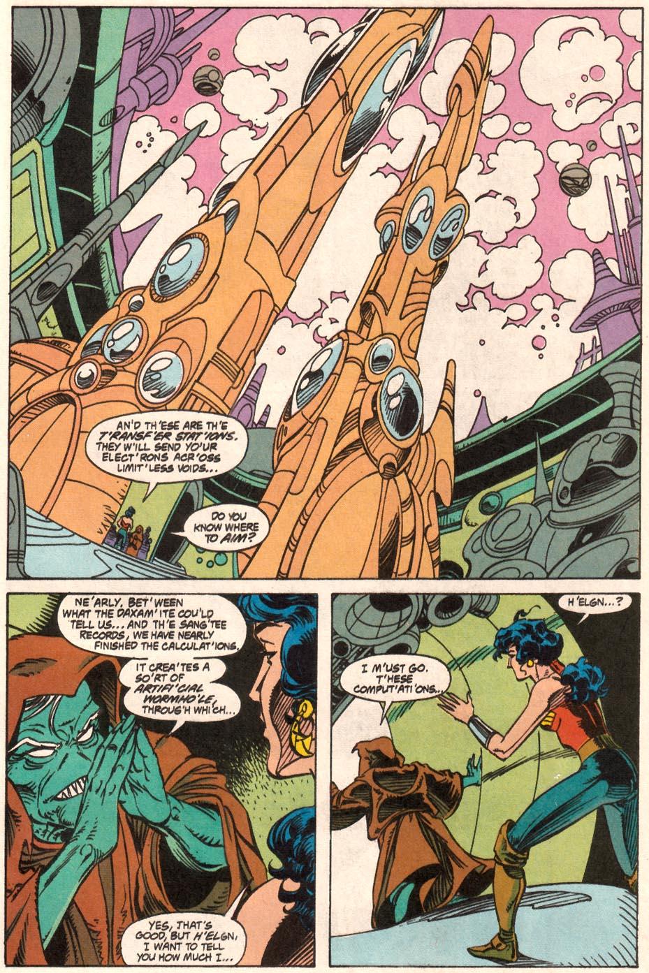 Read online Wonder Woman (1987) comic -  Issue #71 - 14