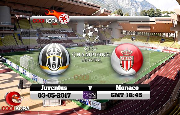 مشاهدة مباراة موناكو ويوفنتوس اليوم 3-5-2017 في دوري أبطال أوروبا