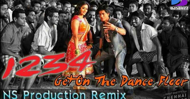 1234 Get On The Dance Floor By Ns Production Remix