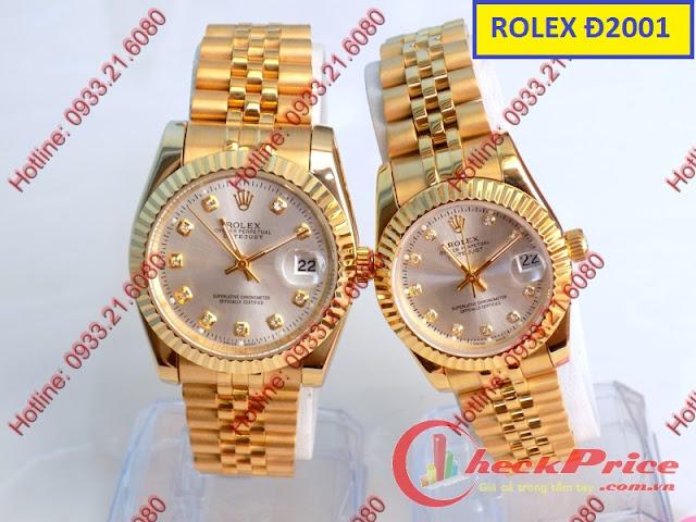 Đồng hồ đeo tay Rolex Đ2001