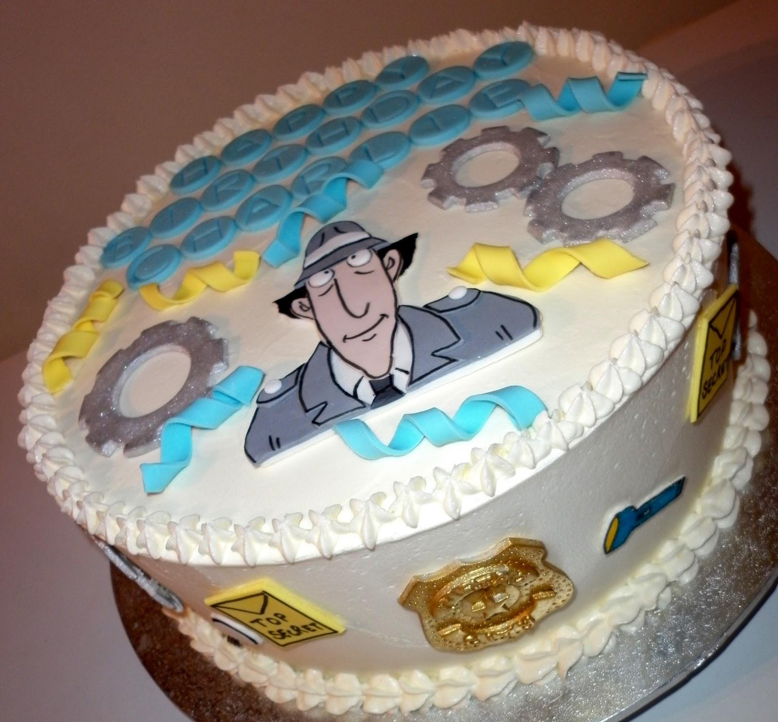 Caketopia: Inspector Gadget Cake for Charlie