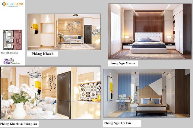 Thiết kế nội thất căn hộ Iris Garden