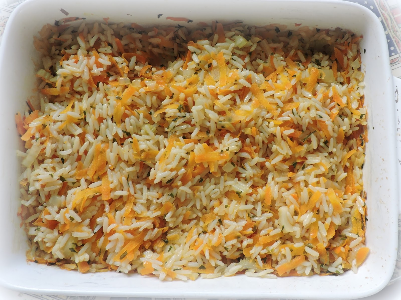 Delicious pilaf in the oven 92