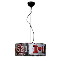 decoration with signs, automobile signs, industrial style, vintage style, retro style, intrustial style, plate constructions, metal diy hanger, metal lighting, round lighting, hanger, industrial style, modern style, loft style, mix and match style