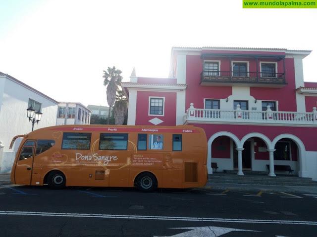 Una unidad móvil del ICHH recorrerá La Palma en su tradicional campaña de extracción de sangre