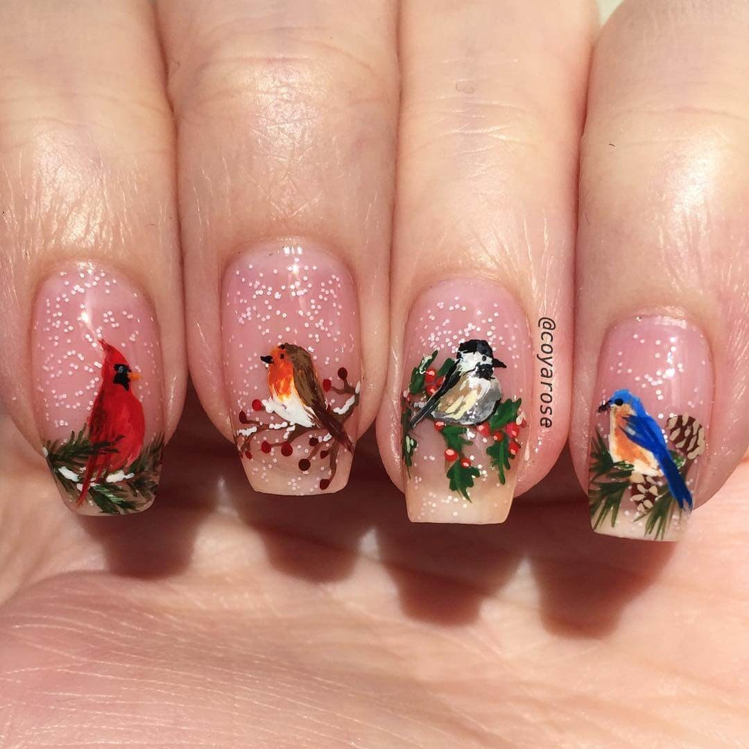 04-Winter-birds-Nicoya-Grobman-Free-Hand-Nail-Art-Designs-www-designstack-co