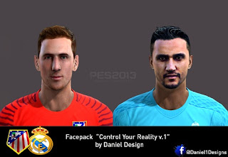 PES 2013 facepack Control Your Reality v1 by Daniel Design