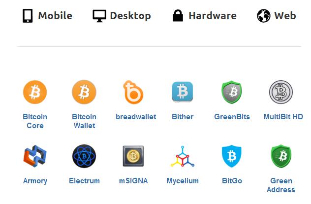 4 nơi lưu trữ bitcoin mà bạn nên biết